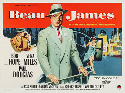 Royalty-Free and Rights-Managed Images - Beau James, with Bob Hope and Vera Miles, 1957 by Stars on Art