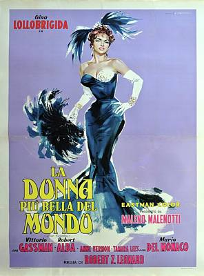 Royalty-Free and Rights-Managed Images - Beautiful But Dangerous, with Gina Lollobrigida, 1955 by Stars on Art