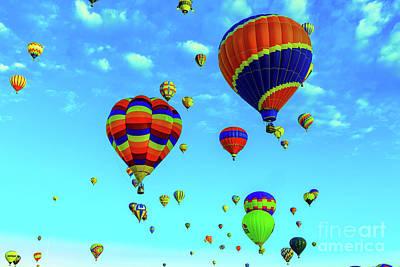 Royalty-Free and Rights-Managed Images - Beautiful colored balloons by Jeff Swan