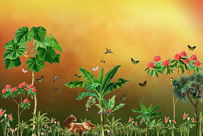 Bringing The Outdoors In - Beautiful Day In The Jungle by Johanna Hurmerinta