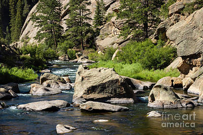 Steven Krull Royalty-Free and Rights-Managed Images - Beautiful Water of the South Platte River by Steven Krull