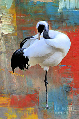 Tina Turner - Beauty Of The Crane by Diann Fisher