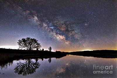 Photograph - Beaver Creek Milky Way by Willard Sharp