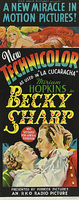 Classic Christmas Movies - Becky Sharp, with Miriam Hopkins, 1935 by Stars on Art