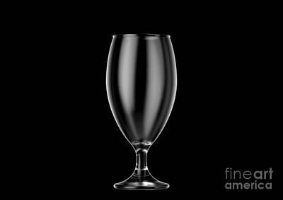 Vincent Van Gogh - Beer Chalice Pint Glass by Allan Swart