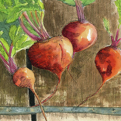 Painting - Beets 2 by Beth Taylor