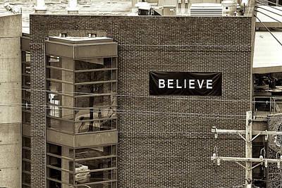 Photograph - Believe by Anthony M Davis