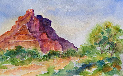 Painting - Bell Rock by Terry Ann Morris