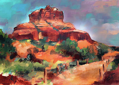 Nirvana - Bell Rock Trail by Elise Palmigiani