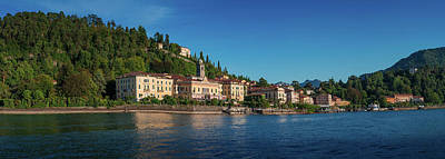 Wild And Wacky Portraits Rights Managed Images - Bellagio panorama from the lake. Como. Italy Royalty-Free Image by Giovanni Appiani