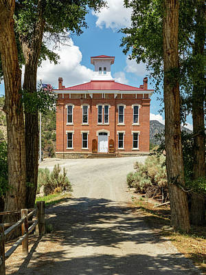 School Tote Bags Royalty Free Images - Belmont Courthouse Royalty-Free Image by James Marvin Phelps