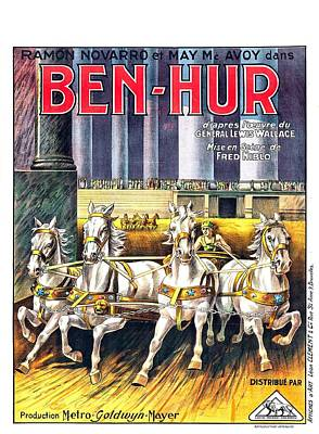 Royalty-Free and Rights-Managed Images - Ben-Hur, with Ramon Novarro, 1925 by Stars on Art