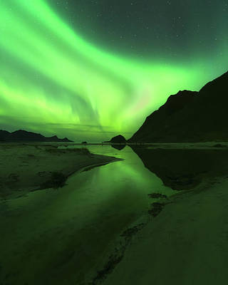 Photograph - Bend It Like Aurora by Tor-Ivar Naess