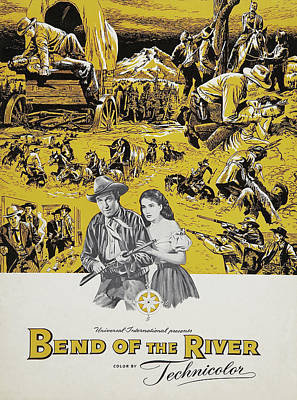 Royalty-Free and Rights-Managed Images - Bend of the River, with James Stewart, 1952 by Stars on Art