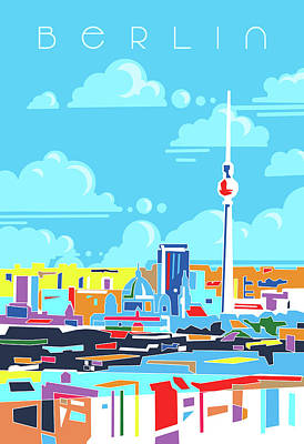 Royalty-Free and Rights-Managed Images - Berlin City Modern by Bekim M