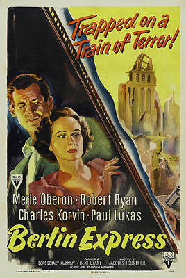 Royalty-Free and Rights-Managed Images - Berlin Express, with Merle Oberon and Robert Ryan, 1948 by Stars on Art