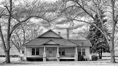 Photograph - Berlin Georgia farmhouse by Ronald Broome