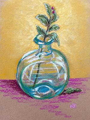 Pastel - Berries in a Bottle by Karen Wysopal