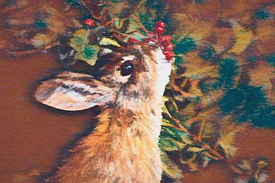David Bowie - Berry Bunny DP1 by Ernie Echols