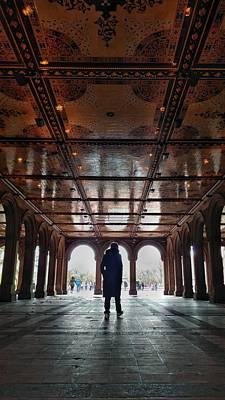 Photograph - Bethesda Terrace Central Park New York City by Cameron Dixon