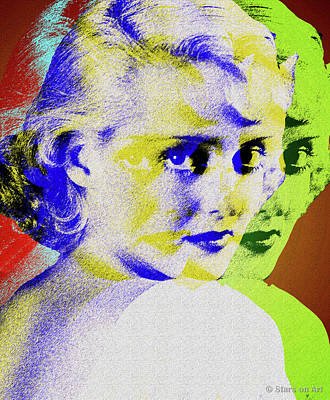 Royalty-Free and Rights-Managed Images - Bette Davis by Stars on Art