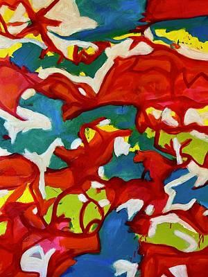 Painting - Between Us by Steven Miller
