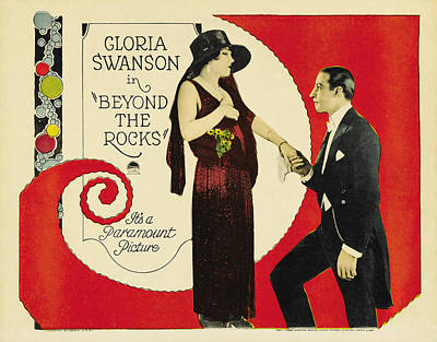 Royalty-Free and Rights-Managed Images - Beyond the Rocks, with Gloria Swanson, 1922-b by Stars on Art