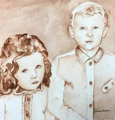 Painting - Big Brother and I by Susanne Nason