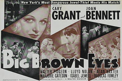 Royalty-Free and Rights-Managed Images - Big Brown Eyes, with Joan Bennett, 1936 by Stars on Art