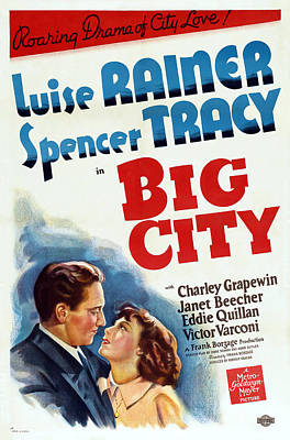Royalty-Free and Rights-Managed Images - Big City, with Luise Rainer and Spencer Tracy, 1937 by Stars on Art