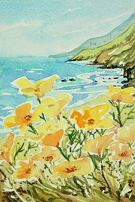 Open Impressionism California Desert - Big Sur to Carmel by Luisa Millicent