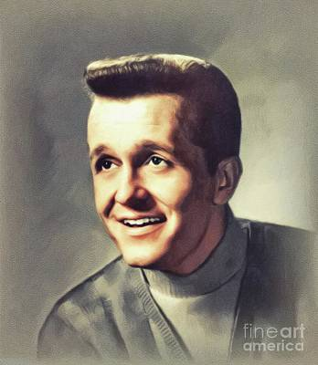 Music Paintings - Bill Anderson, Music Legend by John Springfield