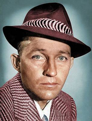 Royalty-Free and Rights-Managed Images - Bing Crosby colorized by Stars on Art