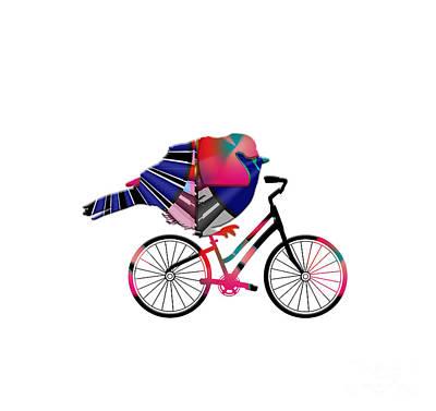 Kim Fearheiley Photography - Birds on Bikes 040420BOB01 by Heidi Baldwin