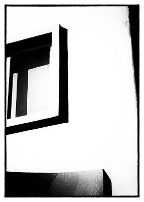 Abstract Royalty-Free and Rights-Managed Images - Black and White Window by Doug Matthews