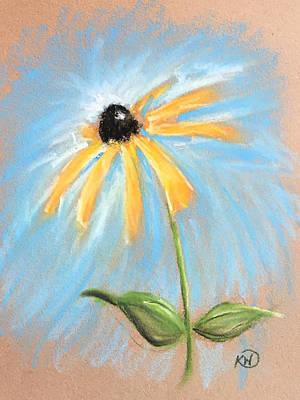 Pastel - Black Eyed Susan by Karen Wysopal