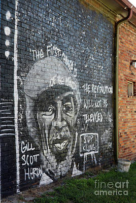 Amy Hamilton Animal Collage - Black Lives Matter Mural Toledo Ohio  9891 by Jack Schultz
