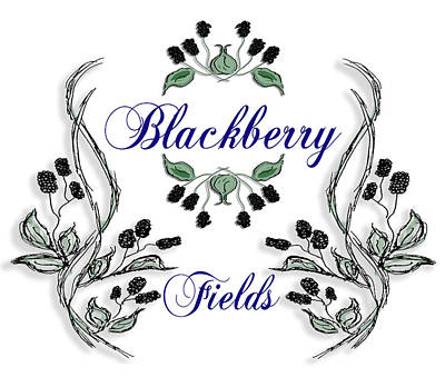 Belinda Landtroop Paintings - Blackberry Fields by Belinda Landtroop