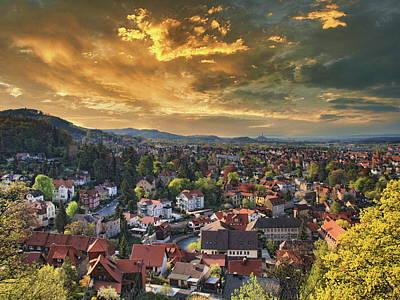 Classic Golf - Blankenburg am Harz Sunset by Anthony Dezenzio