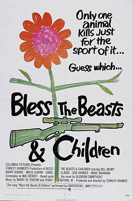 Royalty-Free and Rights-Managed Images - Bless the Beasts and Children, 1971 by Stars on Art