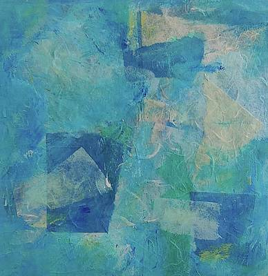 Mixed Media - Bleu by Rose Cofield