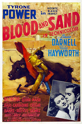 Royalty-Free and Rights-Managed Images - Blood and Sand, with Tyrone Power, 1941 by Stars on Art