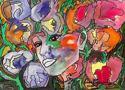Claude Monet - Blooming Amsterdam by Lorena Fernandez