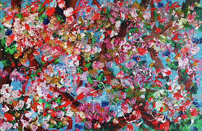 Painting - Blossom 1 by Martin Bush