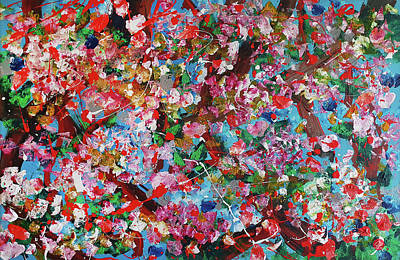 Painting - Blossom 2 by Martin Bush