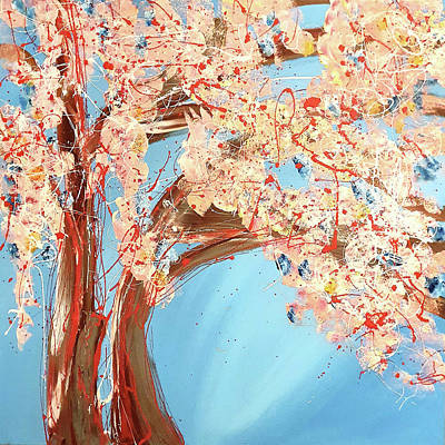 Painting - Blossom Tree by Martin Bush