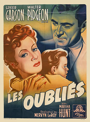Royalty-Free and Rights-Managed Images - Blossoms in the Dust, with Greer Garson, 1941 by Stars on Art