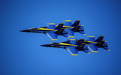 Royalty-Free and Rights-Managed Images - Blue Angels 4 by Pelo Blanco Photo
