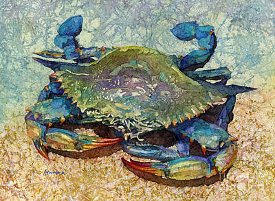 Abstract Trees Mandy Budan - Blue Crab by Hailey E Herrera