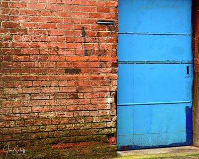 Jerry Sodorff Royalty-Free and Rights-Managed Images - Blue Door by Jerry Sodorff